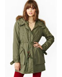 Nasty Gal Downtown Parka - Lyst
