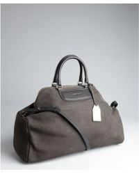 See By Chloé Graphite Suede Large Convertible Tote - Lyst