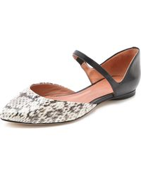 Sigerson Morrison Flat Mary Janes - Lyst