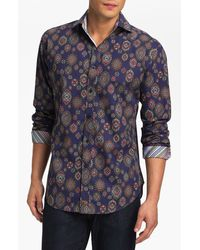 Thomas Dean Regular Fit Sport Shirt - Lyst
