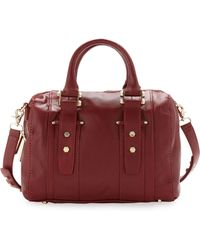 Z Spoke by Zac Posen - Get Happy Barrel Satchel Bag Red - Lyst