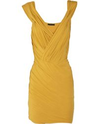 Donna Karan New York Wrapeffect Stretchjersey Dress - Lyst