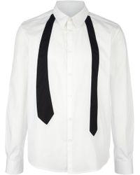 Peter Jensen - Tie Print Shirt - Lyst