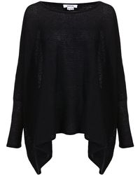 Helmut Lang Cotton-Cashmere Square Sweater - Lyst