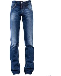 DSquared2 Distressed Slim Jeans - Lyst
