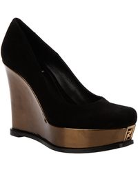 Fendi Wedge Shoe - Lyst