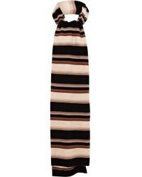 Karen Millen - Blanket Stripe Scarf - Lyst