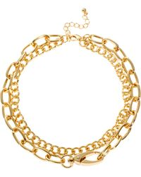 Asos Multipack Chain Choker Necklace - Lyst