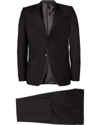 Givenchy Slimfit Contrasttrim Wool and Mohairblend Suit - Lyst