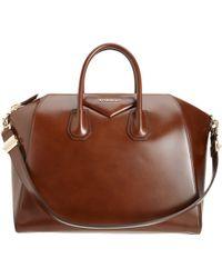 Givenchy Large Antigona Duffel brown - Lyst