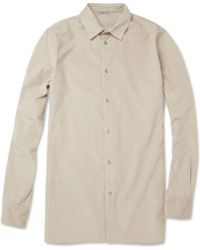 Bottega Veneta Needlecorduroy Cotton and Cashmereblend Shirt - Lyst