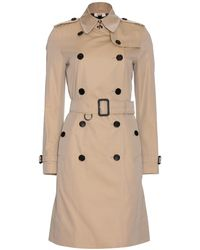 Burberry Kensington Trench Coat - Lyst