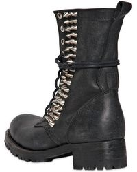 Jeffrey Campbell - 40mm Halen Spiked Leather Boots - Lyst
