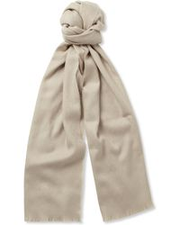 Gucci Jacquard Wool and Cashmereblend Scarf - Lyst