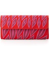 Nanette Lepore - Leafapplique Clutch Bag - Lyst