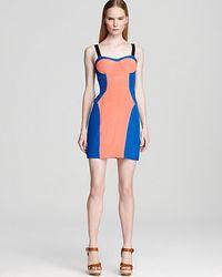 Rebecca Minkoff Dress Claudia Color Block - Lyst
