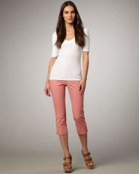 Not Your Daughter's Jeans - Izzie Chino Capris Womens - Lyst