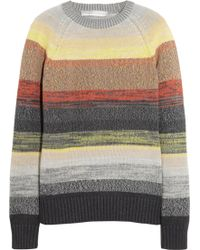 Proenza Schouler Degradéstriped Cotton Sweater - Lyst