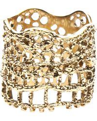 Aurelie Bidermann 'Vintage Lace' Ring - Lyst