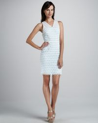 Sachin & Babi Artesa Dress with Scalloped Hem - Lyst