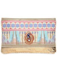 Manish Arora - Printed Nappa Leather Pouch - Lyst