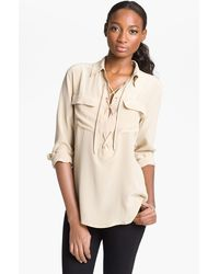 Equipment Knox Silk Shirt - Lyst