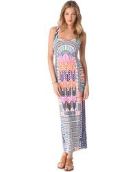 Mara Hoffman Electric Casino Cover Up Maxi Dress - Lyst