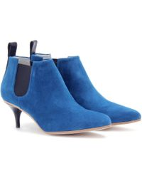 Acne Studios Palma Suede Ankle Boots - Lyst