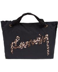 Lanvin - Large Cabas Travel Bag - Lyst