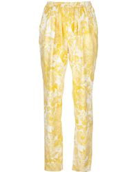Stella McCartney Floral Print Trousers - Lyst