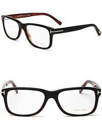 Tom Ford Square Wayfarer Optical Frames - Lyst