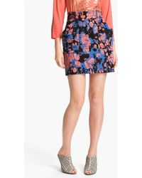 Kelly Wearstler Purple Phenomena Skirt - Lyst