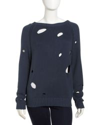 See By Chloé Oversize Knit Pullover - Lyst