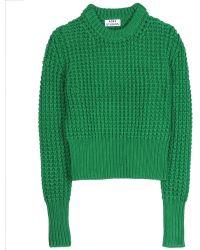 Acne Studios Lia Solid Pullover - Lyst