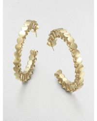 A.L.C. - Mini Push Pin Hoop Earrings - Lyst