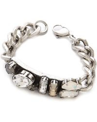 Made Her Think - Dame Id Bracelet - Lyst