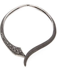 Made Her Think - Open Serpent Collar Necklace - Lyst