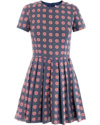 Opening Ceremony Roseprint Dress - Lyst