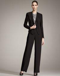 Giorgio Armani - Textured Crepe Suit - Lyst
