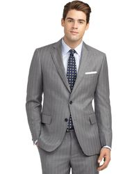 Brooks Brothers Regent Fit Mini Bead Double Stripe Suit - Lyst