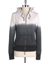 Hard Tail - Ombre Zip-Front Hoodie - Lyst