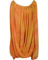 Michael Kors Short Dresses - Lyst