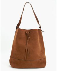 Nasty Gal Dunes Bucket Bag - Lyst