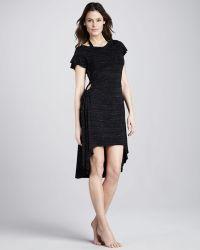 Betsey Johnson Fireworks Sidecutout Coverup Dress - Lyst