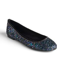 Boutique 9 - Aldenia Glitter Ballet Flats - Lyst