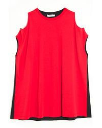 Givenchy Open Shoulder Tee - Lyst