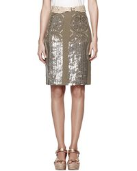 Tory Burch Ciara Skirt - Lyst