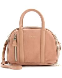 See By Chloé Mini Leather Bowling Bag - Lyst