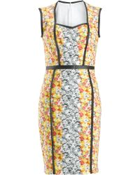 Yigal Azrouel Ikat Pencil Dress - Lyst