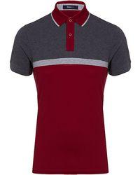 Zegna Sport - Colour Block Polo Shirt - Lyst